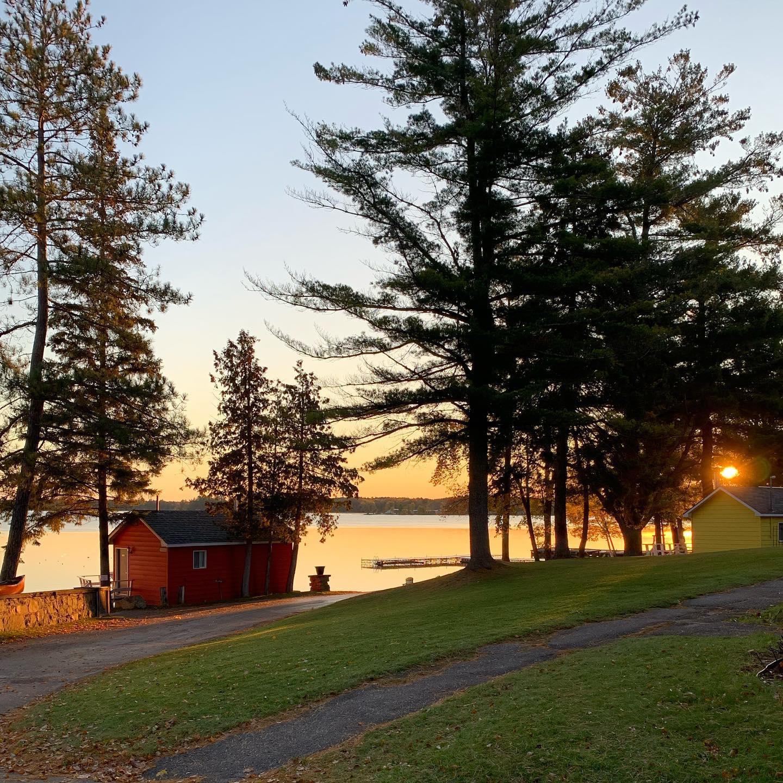 Sunrise at Bayview Wildwood Resort
