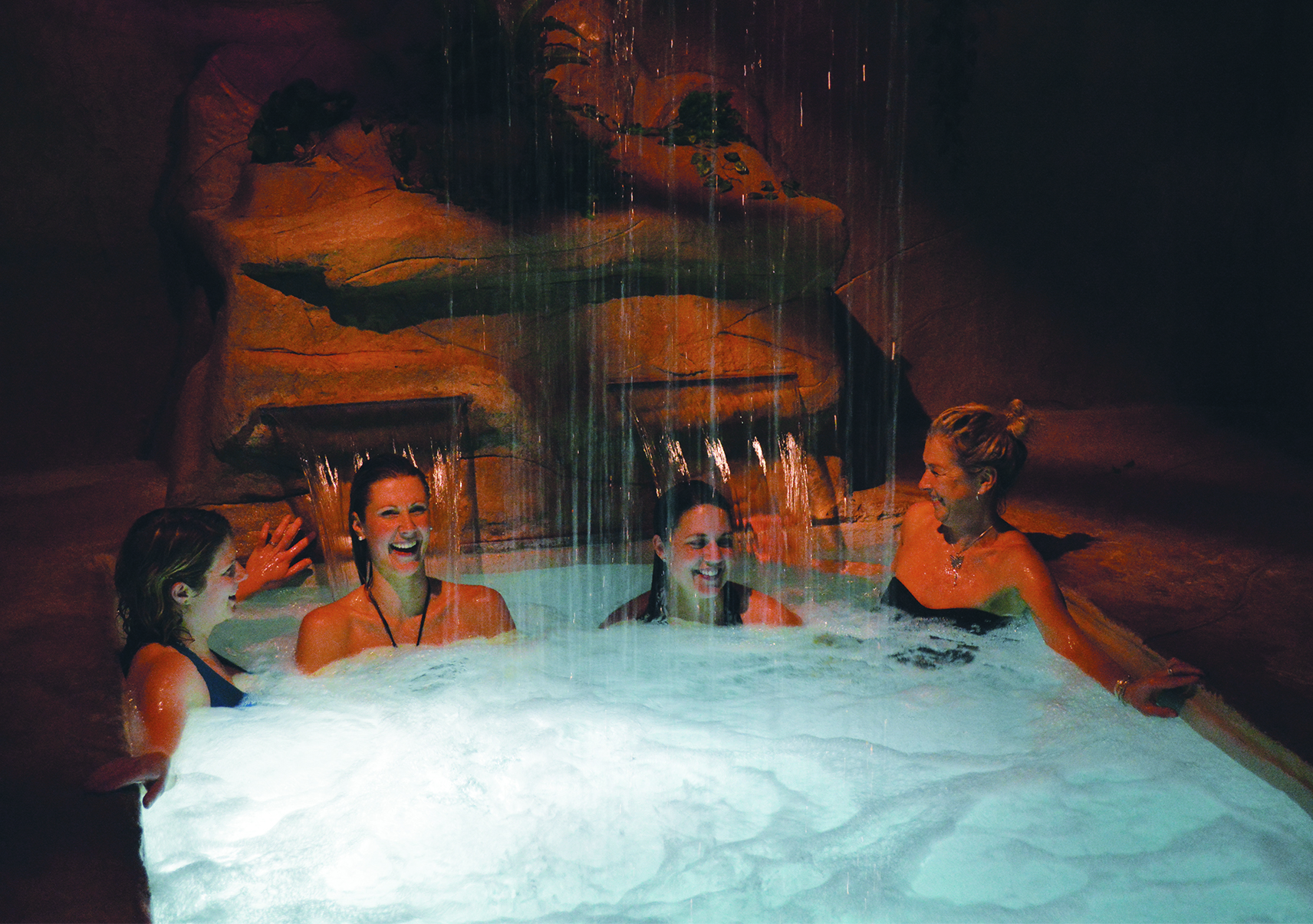 Image of ladies in the spa