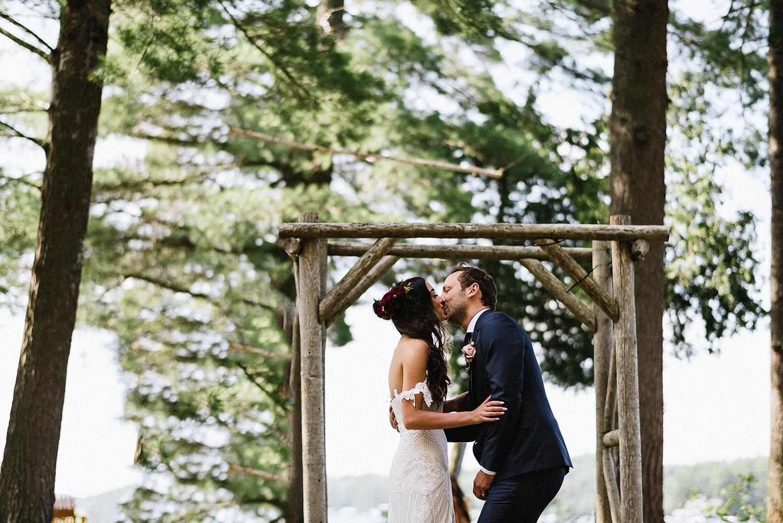 Image of a wedding at Sherwood Inn