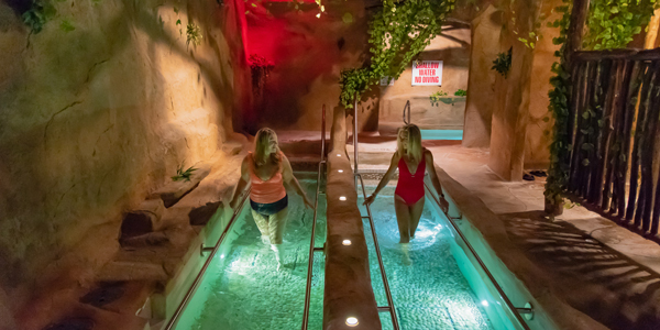 Image of an river walk spa treatment