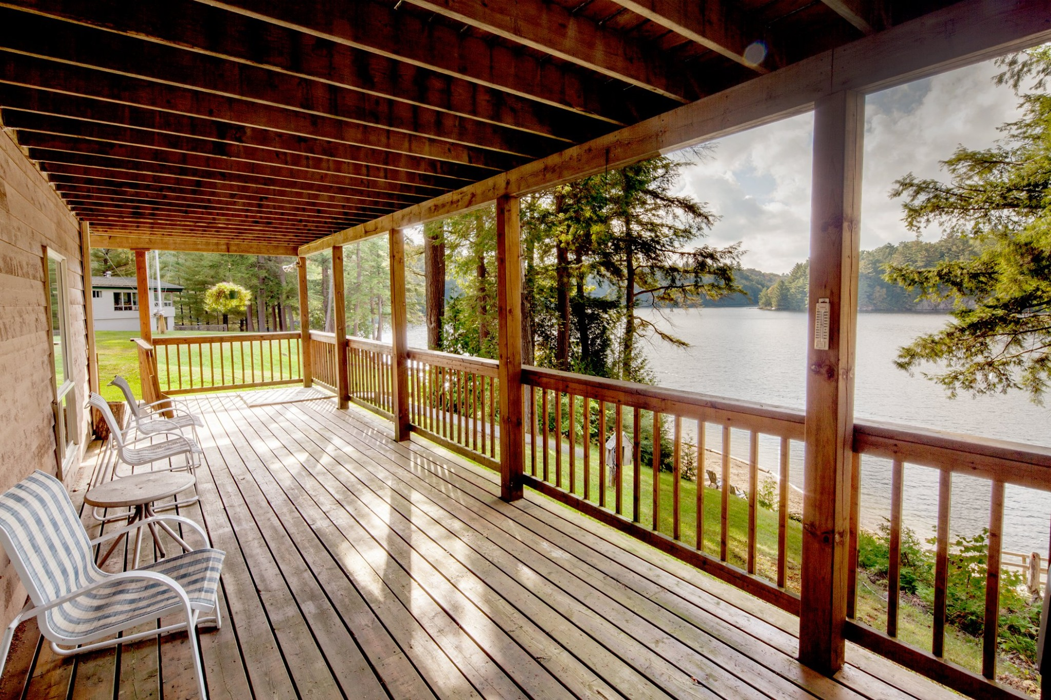 Image of Cottage looking out to the water