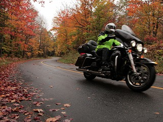 Fall Motorcycle Tours at Ontario Resorts