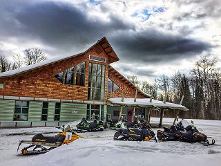 Ontario Resorts You'll Want To Book For Your Next Snowmobile Vacation